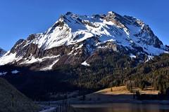 Fluebrig (Kanton Schwyz) (Bergwandern Alpen) Tags: wägital wägitalersee fluebrig bergsee see mountainlake lake berg mountain alpen alps blauerhimmel bluesky morgendämmerung dawn