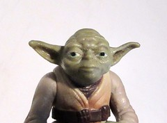 2020 Bald Yoda Portrait Star Wars 4494 (Brechtbug) Tags: 2020 bald yoda portrait star wars action figure toy toys space opera film movie science fiction scifi droid android protocol robot metal man goblin the force wizard adventure galactic character prototype design ralph mcquarrie