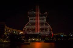 Hard Rock Holly  - Guitar Hotel (Davidpaez27) Tags: nightlandscape landscape guitarhotel hardrock hardrockcasino florida miami night nightshoot lights