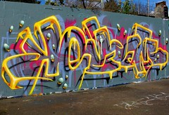 Wireframes (kezam) Tags: kezam graffiti art vibrant yellow 3d 3dgraffiti bright colors