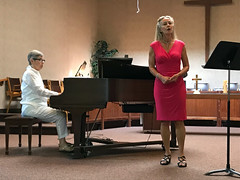 Heather Recital 3 (daryl_mitchell) Tags: regina saskatchewan canada summer 2019 heather leslie recital wesley united church