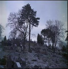 na Rossie (cyv2) Tags: lietuva lithuania vilnius yashicamat124 120 cemetery rossie rasųkapinės