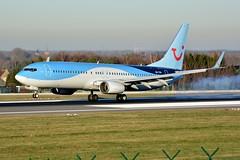 OO-TUV Boeing 737-86J TUI Airlines Belgium (BRU/EBBR) (geoffrey.zdcki) Tags: ootuv tuifly tui tuiflybelgium tuiairlinesbelgium spotting spotter landing boeing bru brussels belgium brusselsairport bruxelles belgique ebbr nikon aviation avion 738 73786j tb jaf