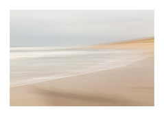 softly sea....... (Brigitte Lorenz) Tags: seascape soft pastel water sea beach mood impressionism abstract