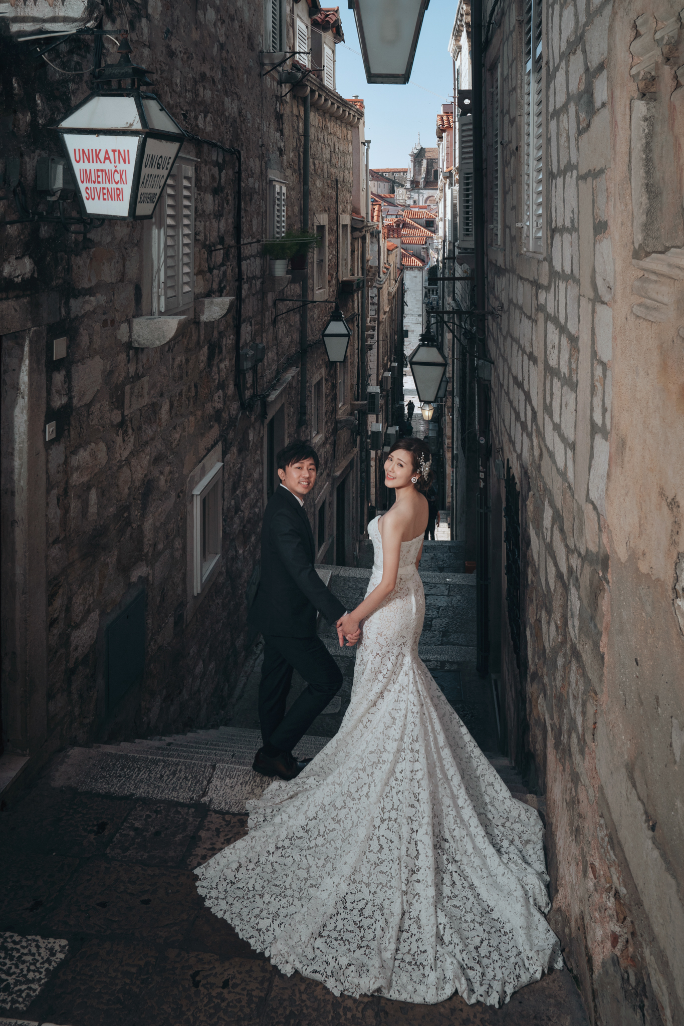 克羅埃西亞, dubrovnik, Donfer, EASTERN WEDDING