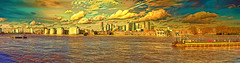 """""""The big one"""", River Thames at Greenwich (""""Alive and Clicking!""""- 2 Mill. Thanks) Tags: greenwich riverthames panorama landscape"""