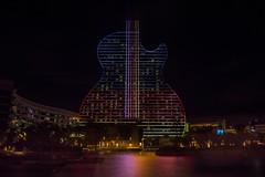 Hard Rock Holly - Guitar Hotel (Davidpaez27) Tags: nightlandscape lights guitarhotel hardrock hardrockcasino florida miami night nightshoot longexposition