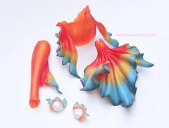 SOOM Mermaid part (♥..Nomyens..♥) Tags: bjd balljointdoll toy doll custom faceup paint painting painted repaint handmade nomyens nomyenscom dollsoom mermaid