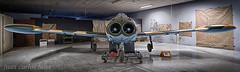 SUPER SAETA HA-220 (juan carlos luna monfort) Tags: avion plane airplane cahs hdr centred´aviaciohistoricalasenia historia historico lasenia montsia tarragona nikond810 irix15 calma paz tranquilidad
