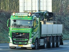 Volvo FH4 from Morssink Holland. (capelleaandenijssel) Tags: 84bgp2 truck trailer lorry camion lkw netherlands nl