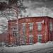 Abandoned factory workshop