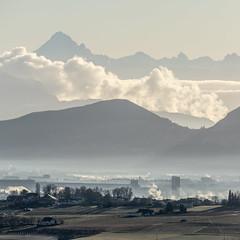 Geneva (iegienie) Tags: geneva alps morning