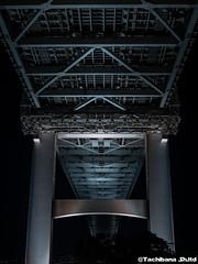 P1131156-HDR (et_dslr_photo) Tags: tokyo tokyonight tokyosunset tokyobay rainbowbridge odaiba shibaura