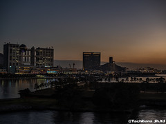 P1131080-HDR (et_dslr_photo) Tags: tokyo tokyosunset sunset rainbowbridge tokyobay tokyobayside
