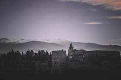 Alhambra (Sara Soler) Tags: alhambra granada españa spain landscape paisaje blancoynegro blackandwhite