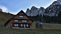 Wägital / Tierberg (Kanton Schwyz) (Bergwandern Alpen) Tags: wägital kantonschwyz alpen alps bauernhof bauernhaus farm berg mountain ländlich bäuerlich country rural tierberg