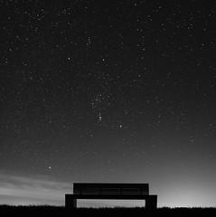 Orions place (kjell.reinsch) Tags: northsea nordsee bensersiel stars sterne night nacht sternenhimmel sternenbild mood