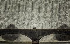 Look at that! (cliveg004) Tags: mountains water wales river waterfall flood dam elanvalley cabancoch riverelan bridge people closeup nikon power walker regulator rhayader fullflow d5200