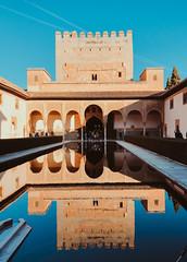 Mirror (Sara Soler) Tags: alhambra granada palaciosnazaríes muslim musulman arte españa spain