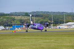 G-PRPG Dash 8, Edinburgh (wwshack) Tags: bombardier dhc8 dash8 edi egph edinburgh edinburghairport flybe scotland turnhouse