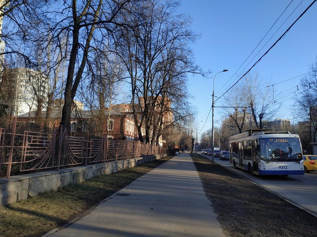 фото: Moscow trolleybus 9312 2020-01 line22