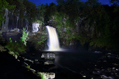 Thorntons Force At Night (Yorkshire Pics) Tags: lightpainting paintingwithlight thorntonsforce thorntonsforceatnight waterfall waterfallsatnight ingleton ingletonwaterfalltrail ingletonwaterfallstrail yorkshire yorkshiredales 2808 28082016 28thmarch 28thmarch2016