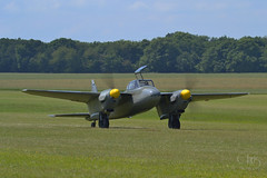 Havilland DH 98 Mosquito (JC-BX) Tags: havillanddh98mosquito airplane aircraft nikon 70300 avion aviation warbird
