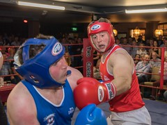 Boxing (grwmcfarland) Tags: sport boxing hit punch red blue mountjoy omagh accies