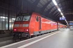 DB Regio 146 124 Bremen Hbf (daveymills37886) Tags: db regio 124 bremen hbf baureihe bombardier traxx ac1 146