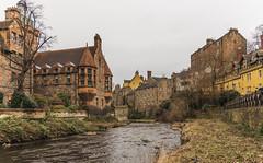 Dean Village - Water of Leith (Elfkild) Tags: deanvillage colors colours edimbourg edinburgh house landscape nopeople paysage river scotland scottichlife écosse édimbourg royaumeuni