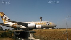 Airbus A380 Etihad Airways (08/28/2018) (PlaneSpotter777) Tags: airbus a380 etihad 2018 year of king sayed livery paris cdg airport departure 09r27l a6aph abu dhabi