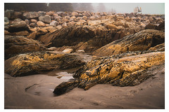 Rocky Shore - Crescent Beach, Nova Scotia - Canada_Web 1-Q_Scaled (johann.kisaame) Tags: canada novascotia ocean sea shadows texture beach details maritime rocks shore shoreline signs tourism travel