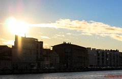 martigues-5 (degun67) Tags: martigues bouches rhone provence ruelle sud canal eau eglise pont bateau ciel bleu nuage