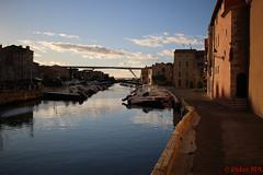 martigues-1 (degun67) Tags: martigues bouches rhone provence ruelle sud canal eau eglise pont bateau ciel bleu nuage