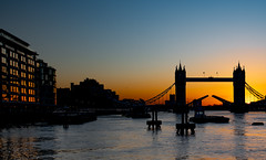 A New Dawn... (Aleem Yousaf) Tags: bird bike ride flickr morning light sunrise river thames sun reflections glass glow golden hour frame water tower bridge historical architecture modern silhouette monument london nikkor nikon path 1835mm wide angle flags hotel cityscape capital england winters great britain happy world outdoor 2020 january design open