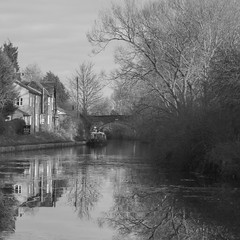 Photo of B&W #1 - Bridgewater Canal Scene