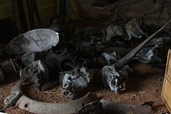 Fw 190 A8 remains, Ecausseville, Normandie (Falcon_33) Tags: fw190 luftwaffe wwi warbird warrelics war