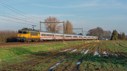 Teuge NSI 1739 DB-BER9-9 7702 IC148 Amsterdam Centraal