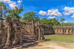 Saturday for Stairs (Janos Kertesz) Tags: cambodia angkor thom ancient stone temple khmer sculpture siem reap bayon religion carving buddhism culture heritage