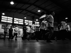 7702 - Run (Diego Rosato) Tags: run corsa allenamento training warm up riscaldamento little boxer piccolo pugile boxe boxing pugilato boxelatina fuji x30 rawtherapee bianconero blackwhite