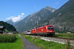 "ÖBB 1116 060 + 1116 xxx | EC 163 ""Transalpin"" 