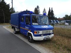 MB 508D - OV Ahaus (michaelausdetmold) Tags: mercedes thw katastrophenschutz kats einsatz blaulicht truck lkw pritschenlkw ahaus nrw