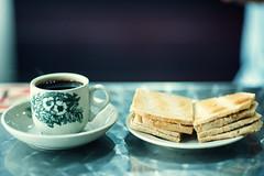 Kaya Butter Toast and Kopi (Jon Siegel) Tags: nikon nikkor d810 85mm 14 kaya toast snack delicious favorite kopi coffee singapore singaporean culture food dining cafe