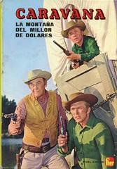 Caravana. La montaña del millón de dólares (ciudad imaginaria) Tags: televisión tv libro book wagontrain caravana johnmcintire dennymiller michaelburns