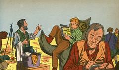 Caravana. La montaña del millón de dólares (ciudad imaginaria) Tags: televisión tv libro book wagontrain caravana johnmcintire