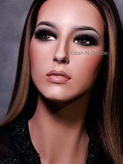 Laiane (dashndazzle) Tags: dashndazzle mannequin makeup rootstein drama divas