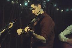 Cup O'Joe (2020) 10 - Kieran Towers (guest) (KM's Live Music shots) Tags: bluegrass greatbritain cupojoe kierantowers fiddle violin folkonmonday theharrison