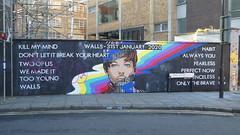 graffadi, Shoreditch (duncan) Tags: streetart shoreditch graffiti advert walls louistomlinson hanburystreet