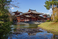 Byodo-in (stephanexposeinjapan) Tags: japon japan asia asie stephanexpose canon 600d 1635mm byodoin temple kyoto uji eau water reflet reflect
