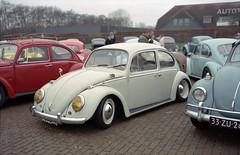 Classic VWs shot with the Fujica G690 (Ronald_H) Tags: fujica g690 kever winterfestijn aircooled volkswagen film medium format 120 classic car 2020